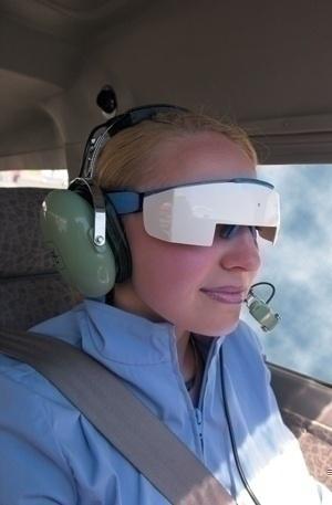 Modellen er hentet fra Jeppesens produktsider, men slik ser altså disse brillene ut...